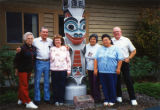 Four of the Jamestown S'Klallam elders and some of their spouses, Blyn, WA