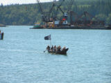 Intertribal Canoe Journey at Port Gamble, Gamble Bay, WA, 2007